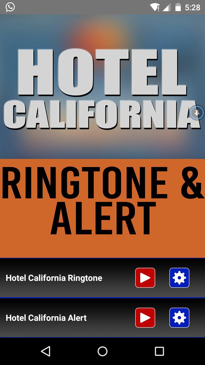 Hotel California Ringtones Free Download