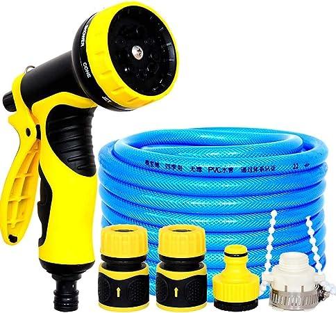 Manguera de Agua de Jardín Manguera Flexible, Pistola De Agua Para Del Jardín Del Hogar Para