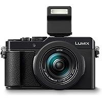 Panasonic LUMIX DC-LX100II Premium Digitalkamera (21,77 MP, 24-75mm Leica DC Vario Summilux Objektiv, F1.7-2.8, 4K, schwarz)