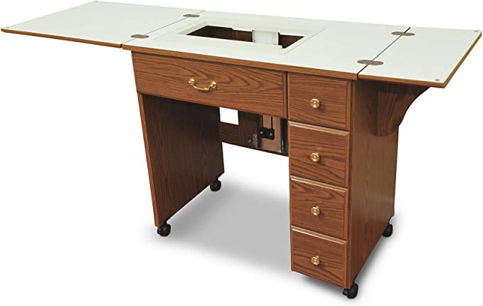 Mueble para máquina de coser- Tia Oakley: Amazon.es: Hogar