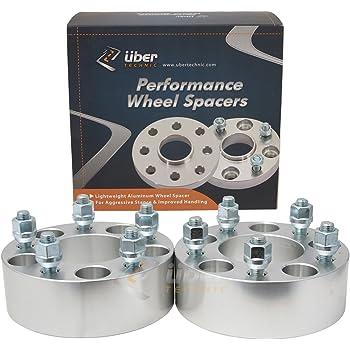 Amazon Com 2pc 1 5 Ubertechnic Wheel Spacers 5x115 Bolt Pattern