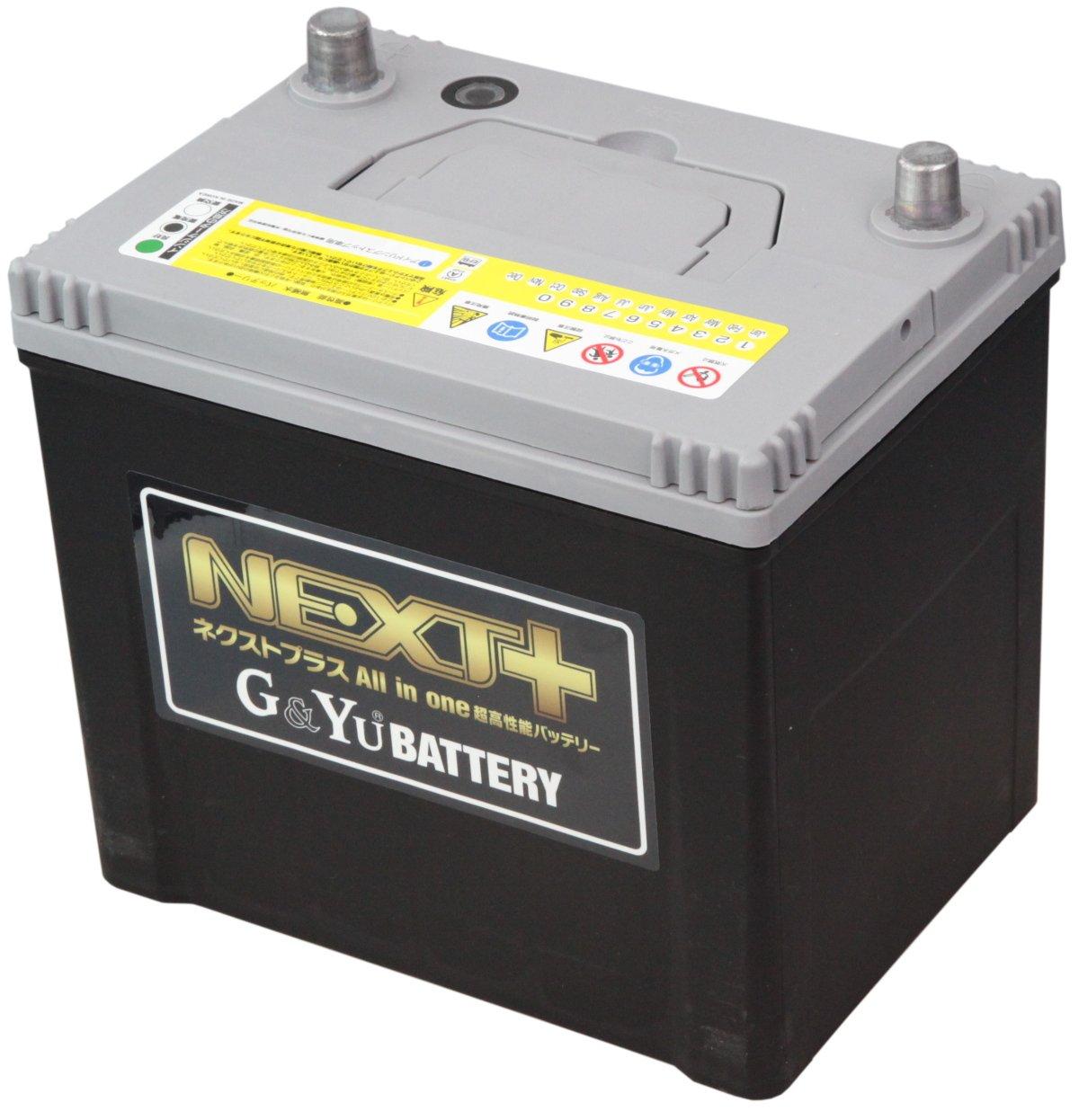 G&Yu [ ジーアンドユー ] 国産車バッテリー アイドリングストップ車&標準車対応 [NEXT+] NP115D26R/S-95R B00SL74TF6