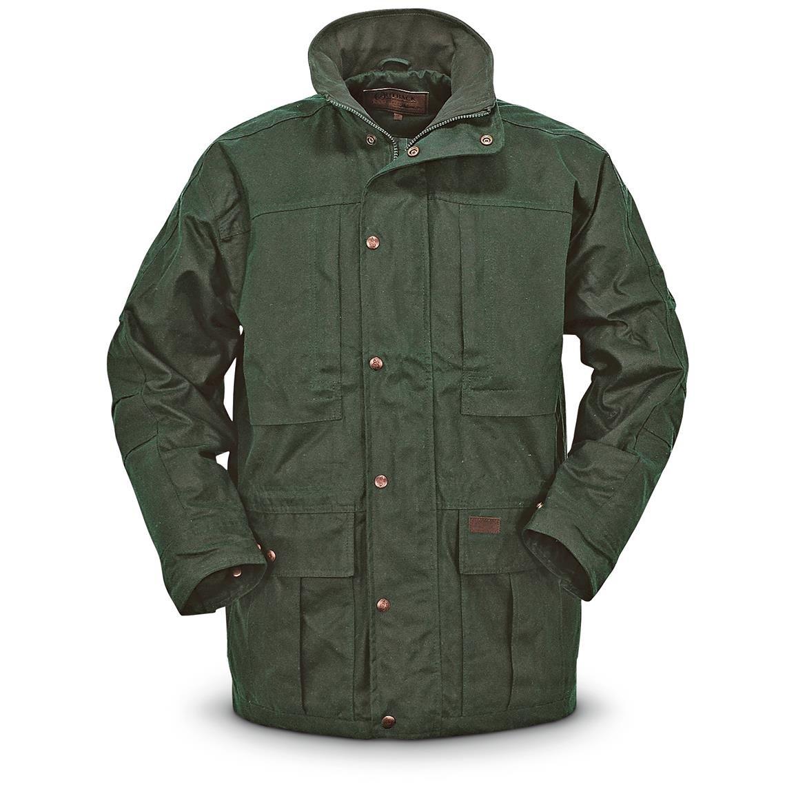 Outback Trading Deer Hunter Waterproof Oilskin Jacket 080317