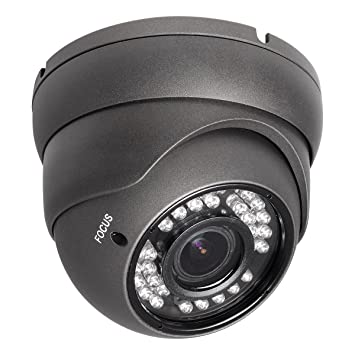 Amazon.com : R-Tech RVD70B 1000TVL Outdoor Dome Security Camera ...