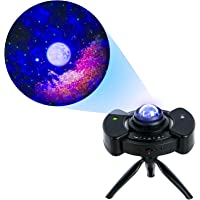 utipef Ceiling Star Projector w/Moon Stars LED Nebula Cloud for Adults Baby Kids Room/Game Room Theatre, 4 in 1 Laser…