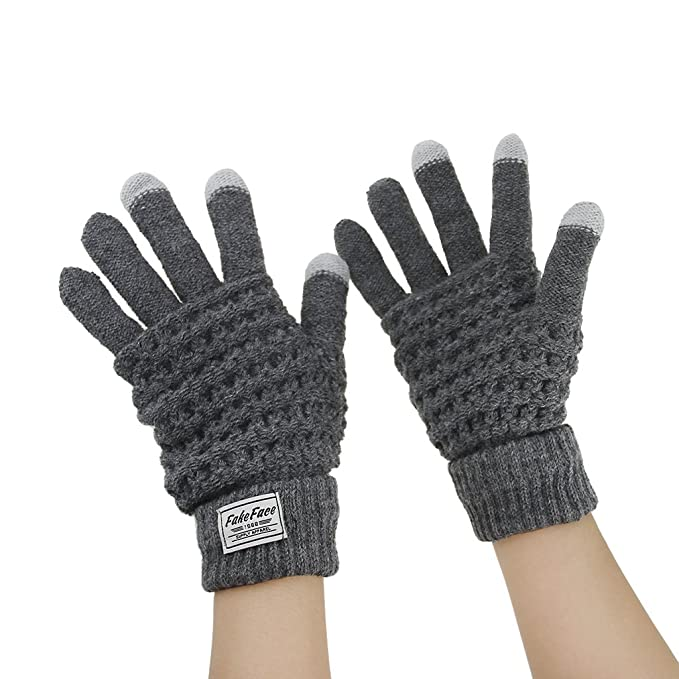 a1dbc75757c934 Herren Damen Handschuhe mit Touchscreen Funktion Winter Warme Handschuhe  Smartphone Touch Gloves