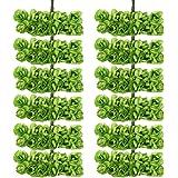 144pz Carta Artificiali Rosa Boccioli Di Fiori Mini Partito Decorazione Feste - Verde