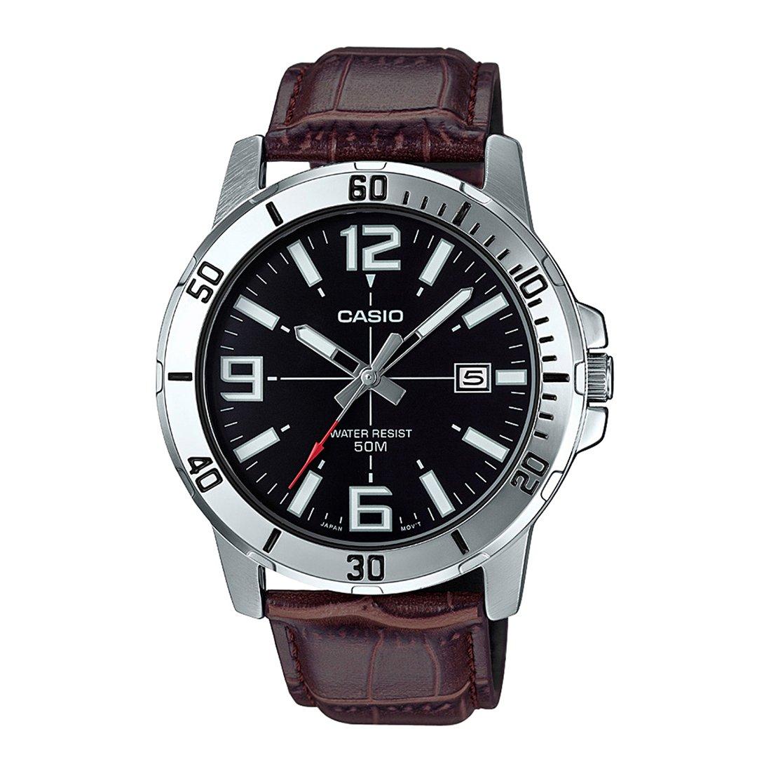 c0bb98514e50 Casio MTP-VD01L-1BV - Reloj Deportivo analógico Casual para Hombre ...