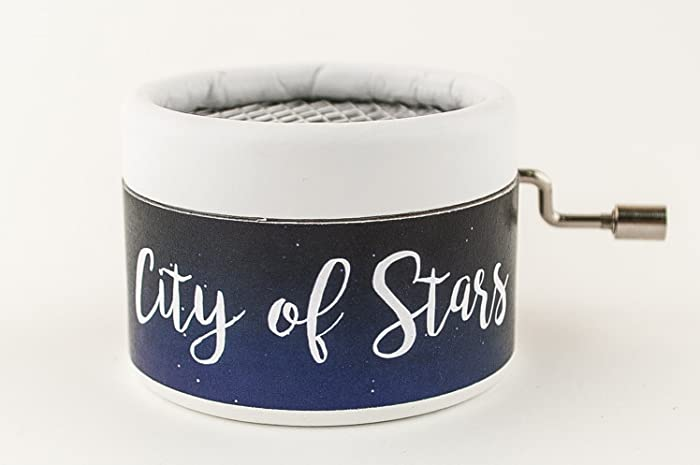 Caja de música La la land con la melodía de City of stars. Envío gratuito