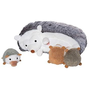 Amazon Com Manhattan Toy Nursing Nissa Hedgehog Stuffed Animal With