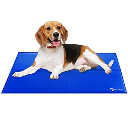 Comfortable Extra Large Cooling Mat For Dogs Cats Self Cooling Gel Mat 38 X 32 Inches Pressure Activated Travel Indoor Outdoor Pet Mat