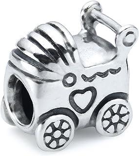pandora charm carrito bebe