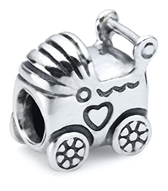 pandora charms baby carriage