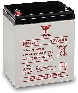 YUASA Battery NP4-12 12 V 4AH Battery