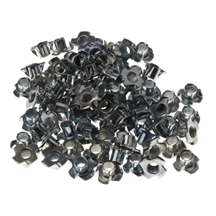 100pcs Rock Climbing Nut Replacement Corrosion Resistant Climbing Hold Screw