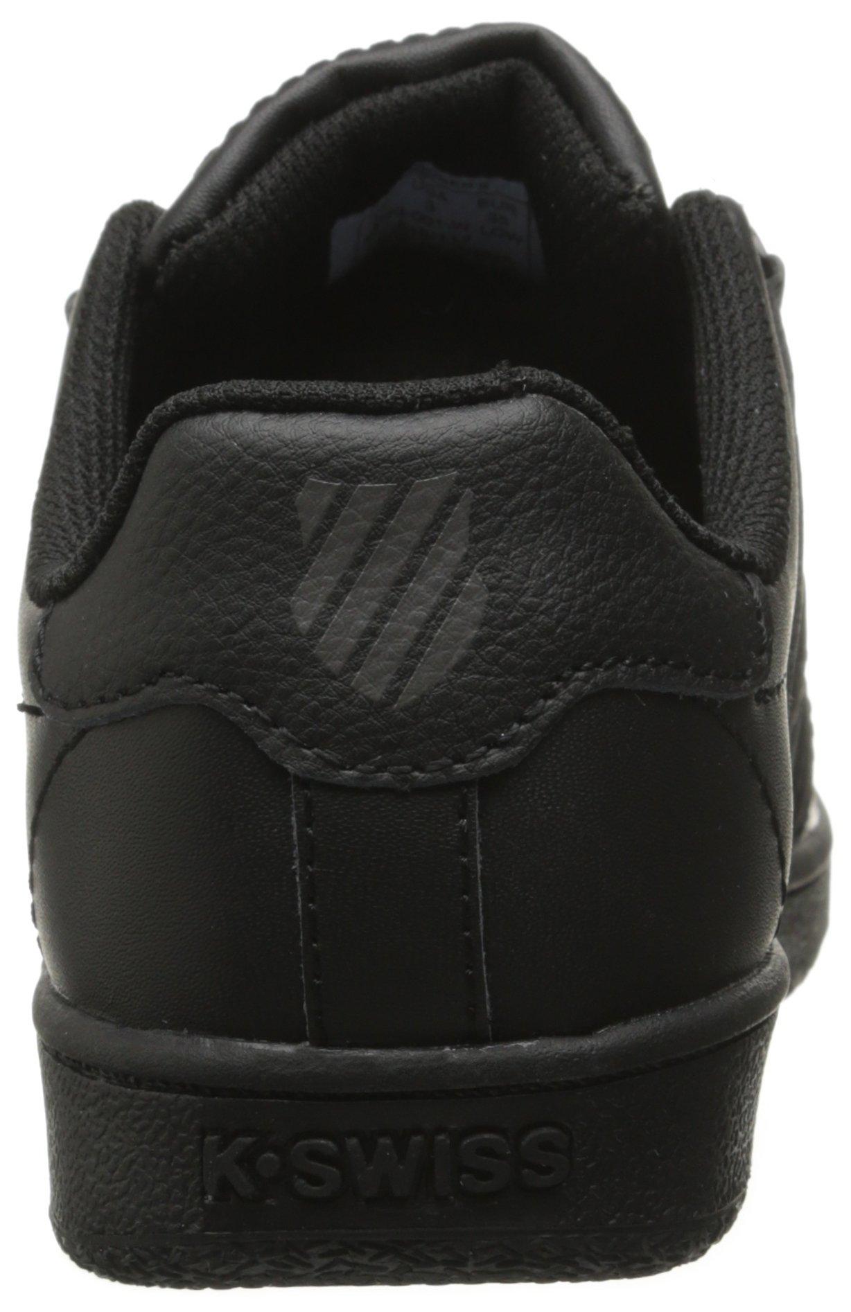 K-Swiss CLASSIC VN Black/Black,3.5 M US Big Kid by K-Swiss (Image #2)