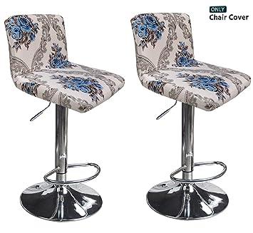 Amazon.com: Deisy Dee C176 - Fundas para silla de comedor, 2 ...