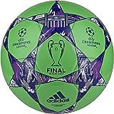 adidas Finale Berlin Capitano Soccer Ball (Green/Night Flash/Purple)
