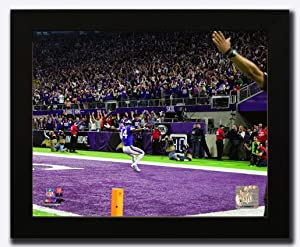 Minnesota Vikings Stefon Diggs Miracle In Minneapolis. NFC Divisional Play Off Game Winning Catch. Framed 8x10 Photo, Picture. endzone (mf)