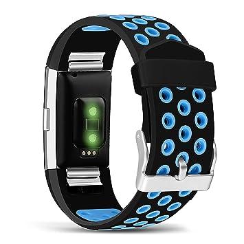 Amazon.com: mosstek para Fitbit Charge 2 bandas ...