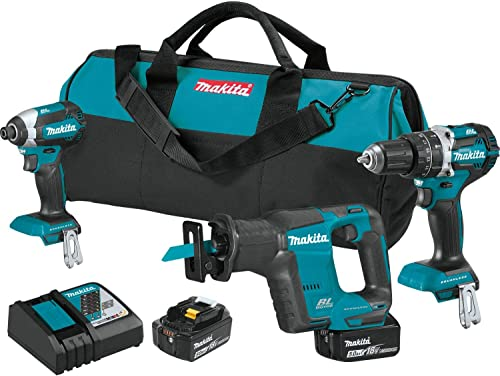 Makita XT337T 18V LXT Brushless 3-Pc. Combo Kit