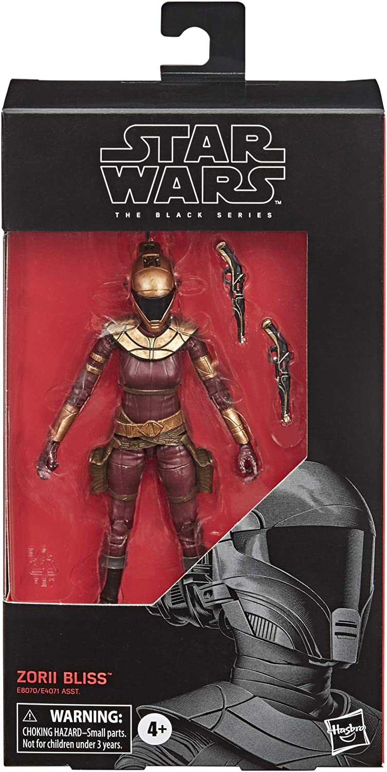 Star Wars The Balck Series  6 Inch Zorii Bliss TROS Pre-Order March-April 2020
