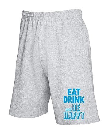 Speed - Pantalón Corto de chándal Gris CIT0069 Eat Drink and BE ...