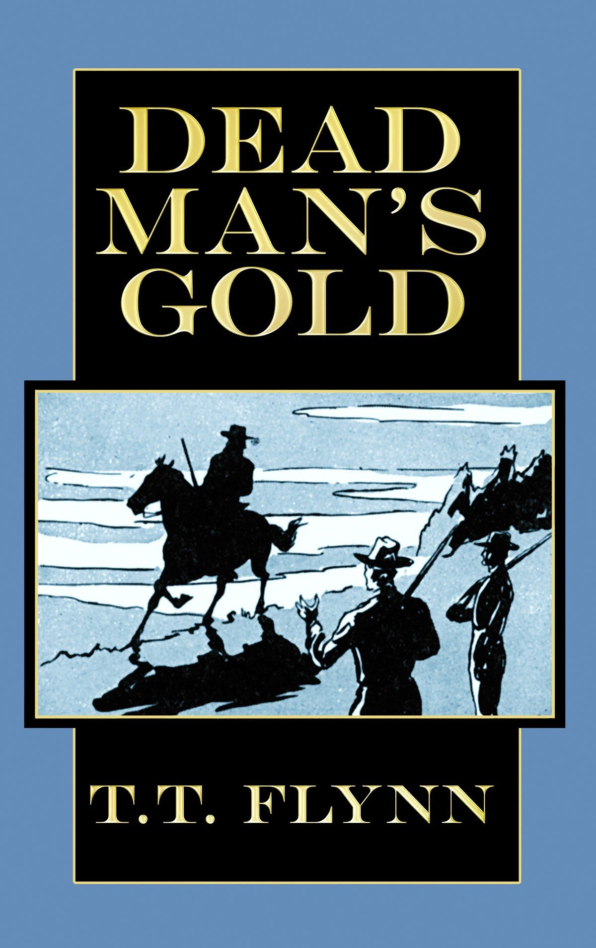 Dead Man's Gold (Center Point Western Complete (Large Print)) PDF