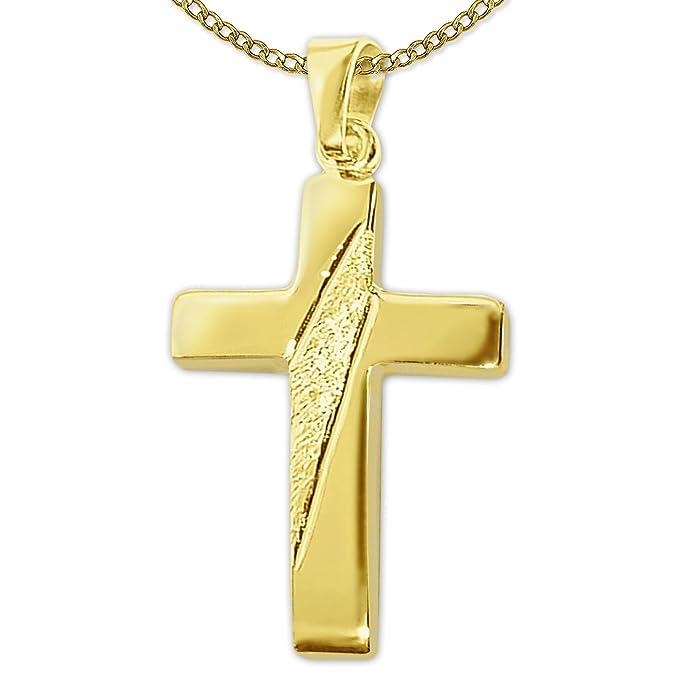 Kreuz kette gold