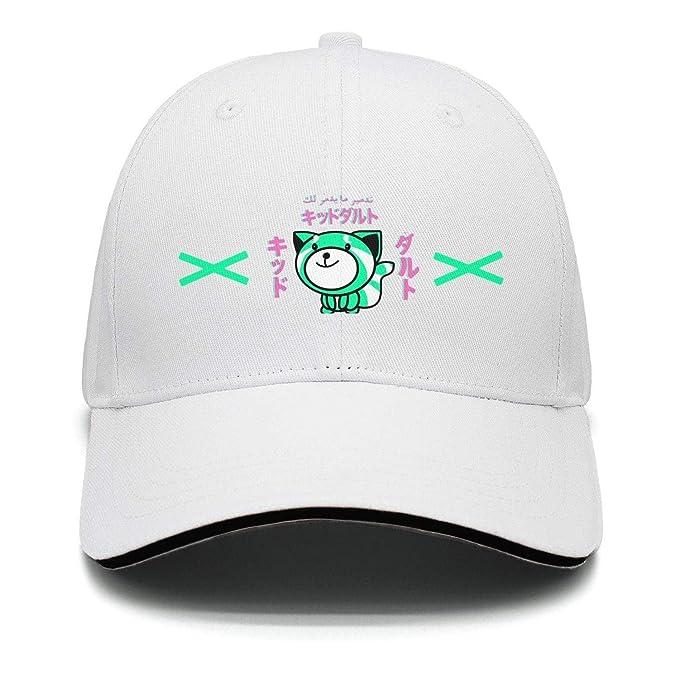 Amazon.com  The Weeknd Cartoon XO Unisex White Snapback Hats for ... 53ee1934617