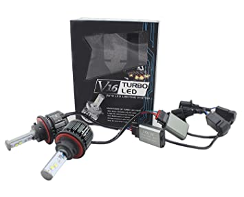 Auto Led Lampen : V led lampen scheinwerfer all in one conversion kit cree led