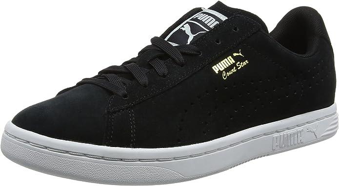 Puma Court Star Sneaker Damen Herren Unisex Schwarz