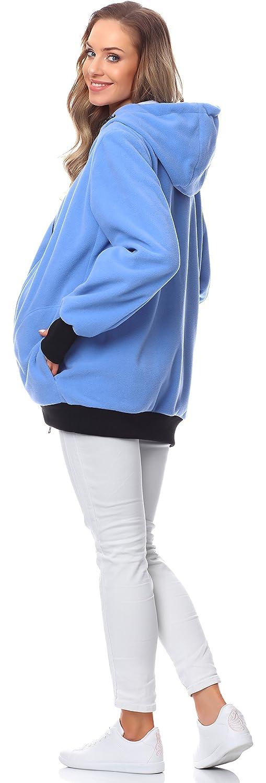 Bellivalini Sweat /à Capuche Blouson Grossesse Maternit/é Femme BLV50-117