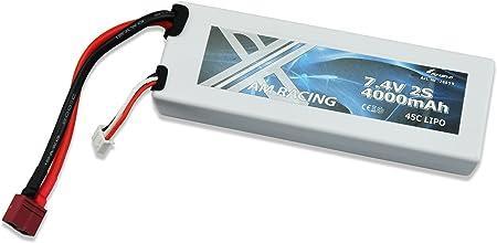 Marken Lipo Akku GE 7,4 Volt 5000mah 2s 30C T-Plug 25Min laden reduziert