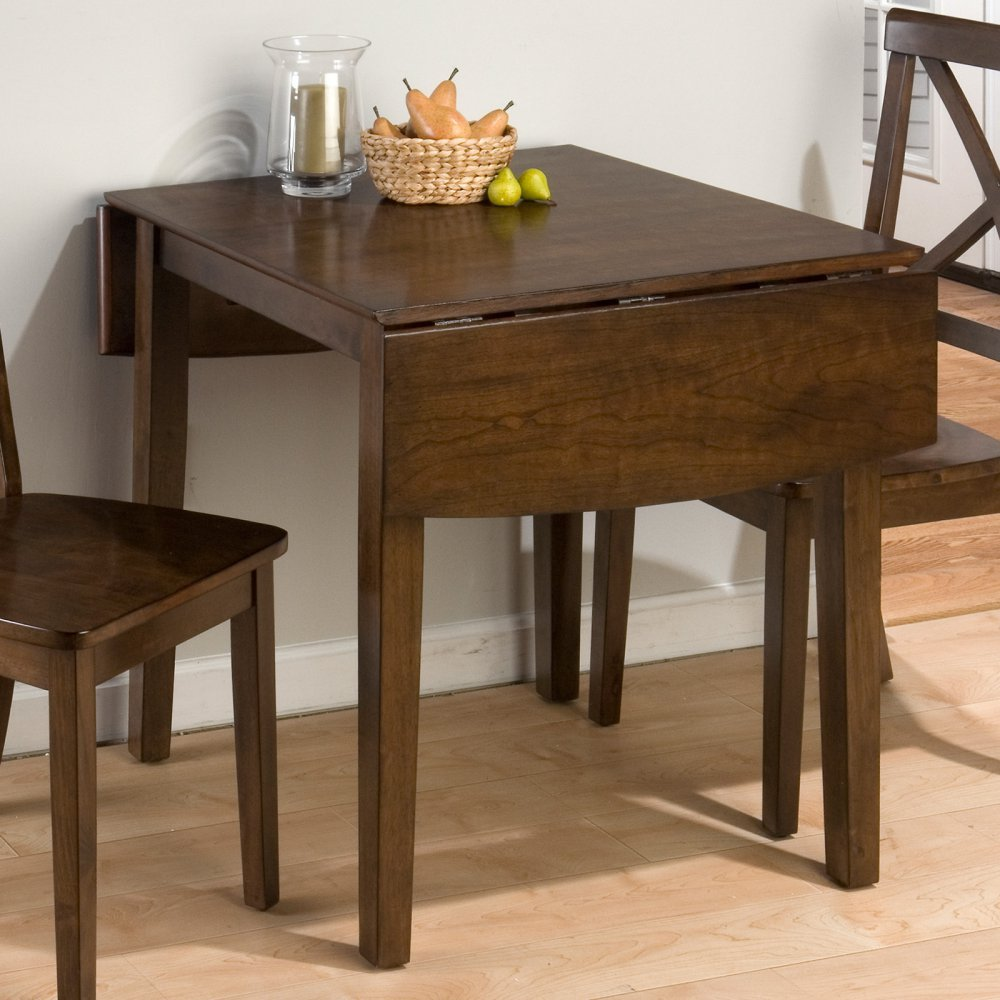 Amazon jofran double drop leaf dining table in taylor brown amazon jofran double drop leaf dining table in taylor brown cherry tables watchthetrailerfo