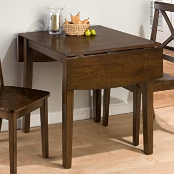 Jofran 342 Series Double Drop Leaf Dining Table In Taylor Cherry