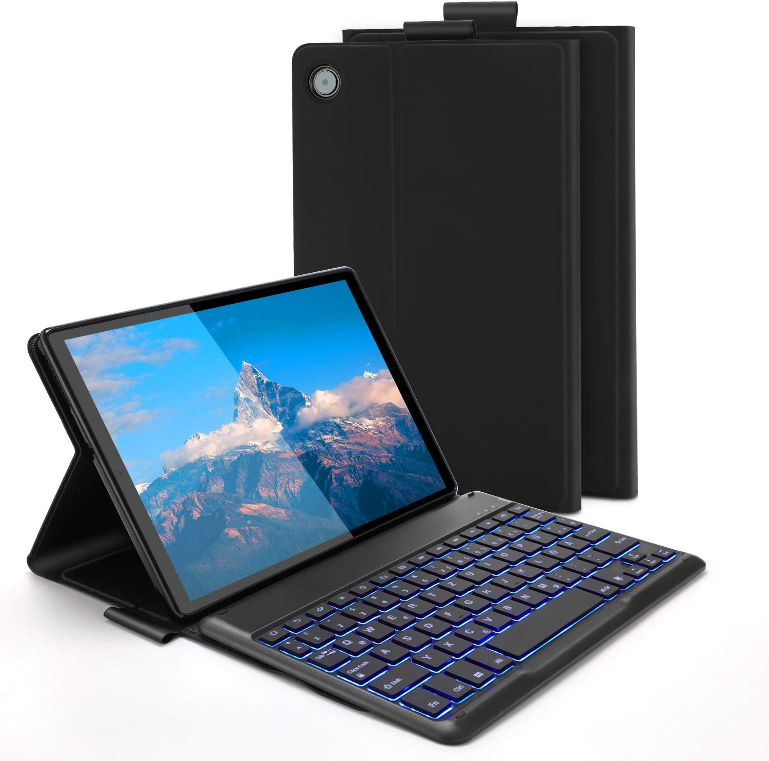 Jelly Comb Backlit Keyboard Case For Lenovo Tab M10 Computers Accessories