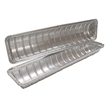 Mashers 940 ml desechables Swiss Roll Cake Tin recipientes de aluminio - top y Base - Pack de 1 Set: Amazon.es: Hogar