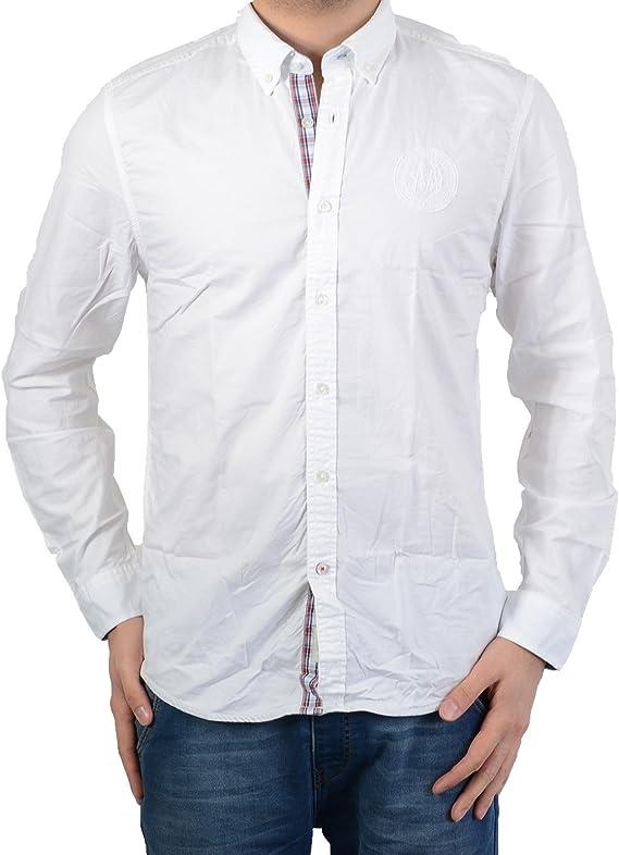 Camisa Mcgregor Iden Yardelli Tomar Ivy 2016. 20.2082.61-120 Blanco: Amazon.es: Ropa y accesorios
