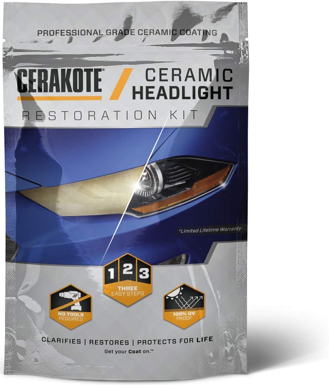CERAKOTE Ceramic Headlight Restoration Kit 71CAKpTenbL