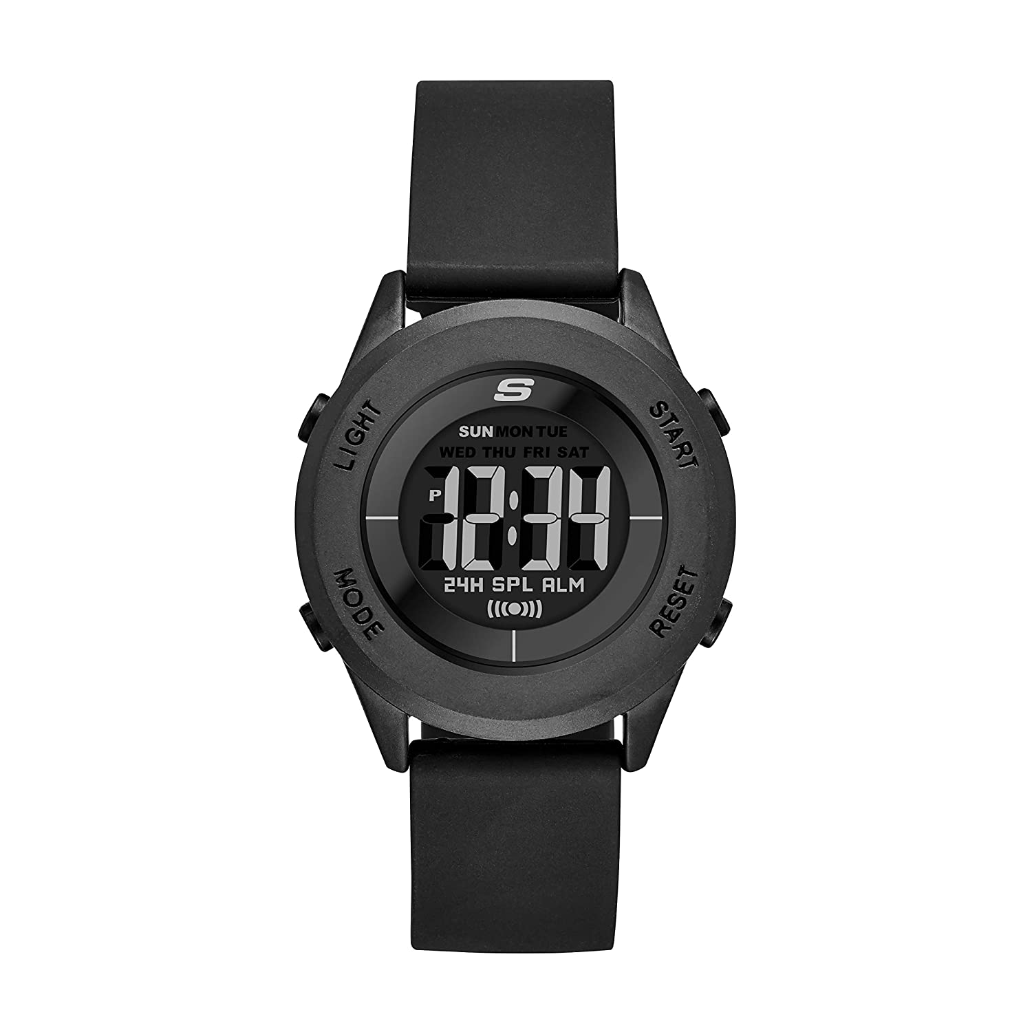 5a5b0fc3c5d Amazon.com  Skechers Women s Wiseburn Quartz Metal and Silicone Digital  Watch Color  Black (Model  SR6126)  Watches