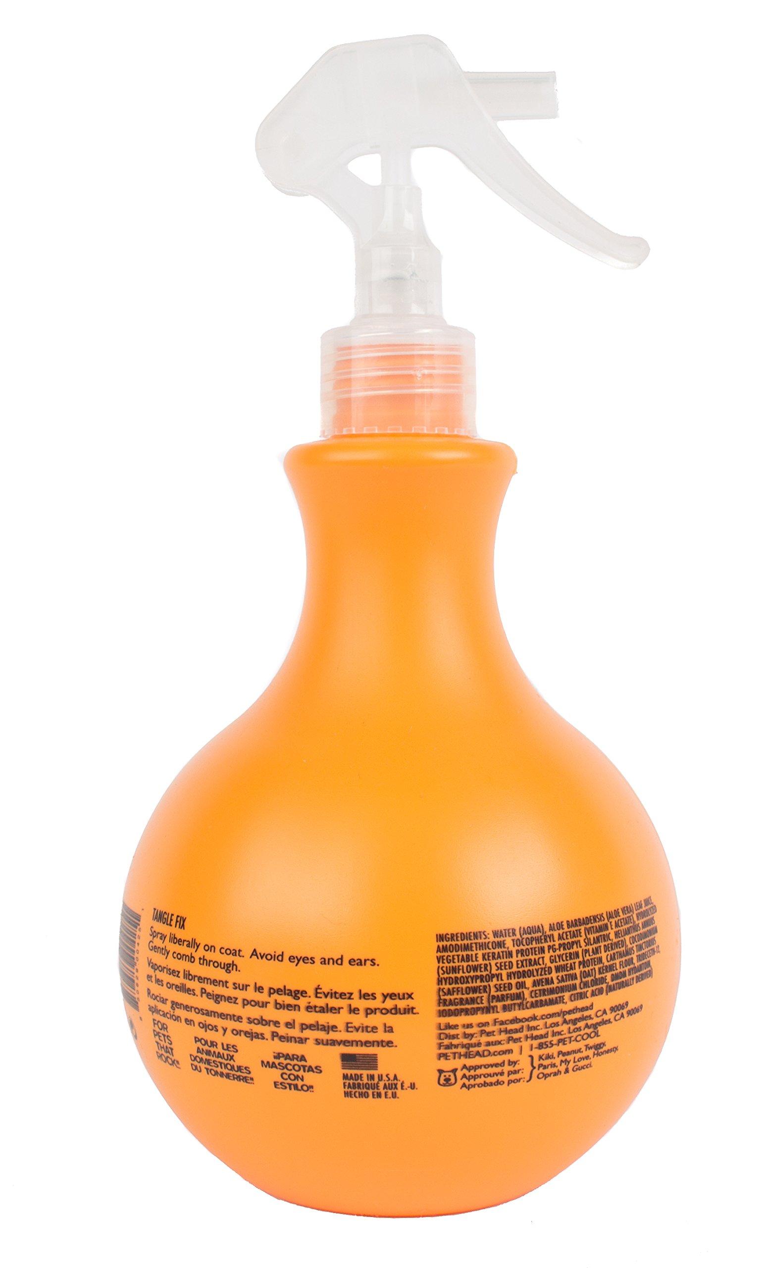Pet Head Fur Ball Detangling Spray for Pets Strawberry Yogurt -- 15.2 fl oz by The Company of Animals (Image #3)