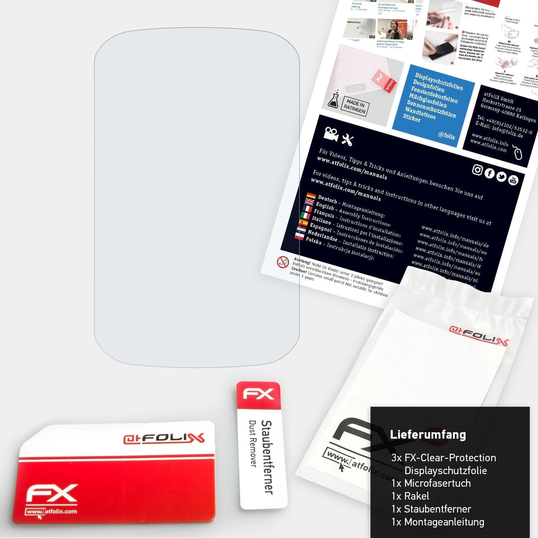 atFoliX Film Protection d/écran Compatible avec Garmin Edge 1000 Protecteur d/écran 3X Ultra-Clair FX /Écran Protecteur