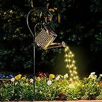 Ledeak Solar Watering Can Light, Solar Fairy Lights Outdoor Waterproof, Hanging Solar Powered Lantern Garden Art Light…