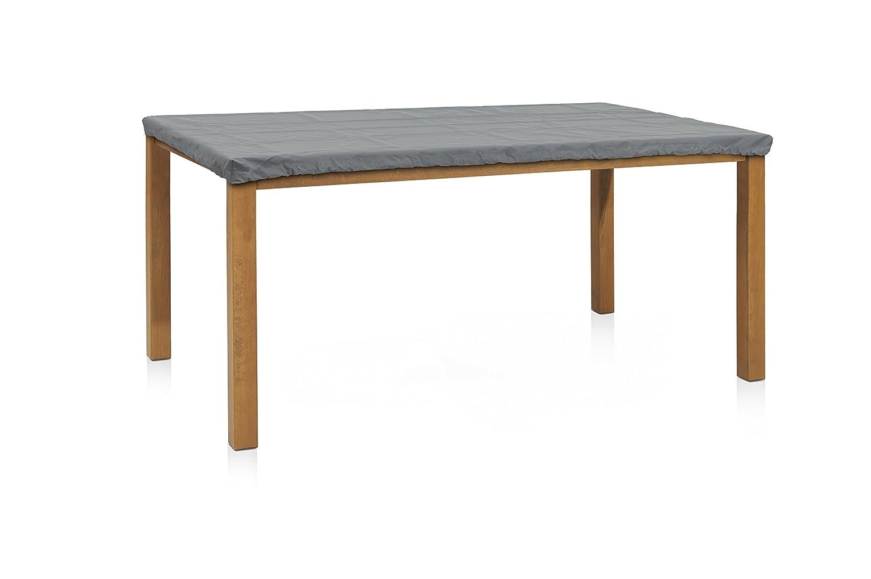 Eigbrecht 140106 Robusta Abdeckhaube Schutzhülle für Tischplatten rechteckig grau 180x100cm