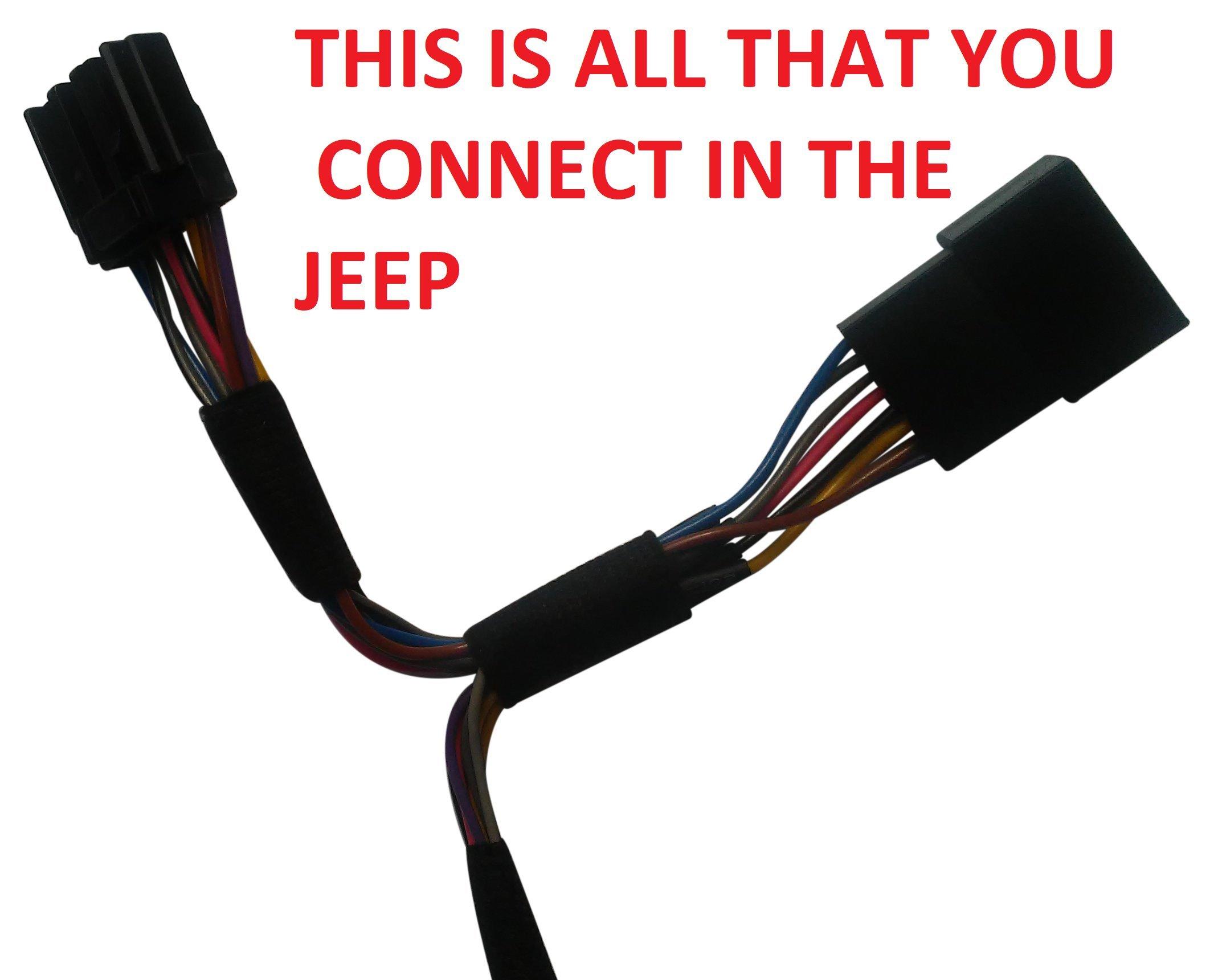 Jeep Wrangler Remote Start Starter Kit Plug & Play 2007-2018 WranglerRemoteStarter.com for a video installation
