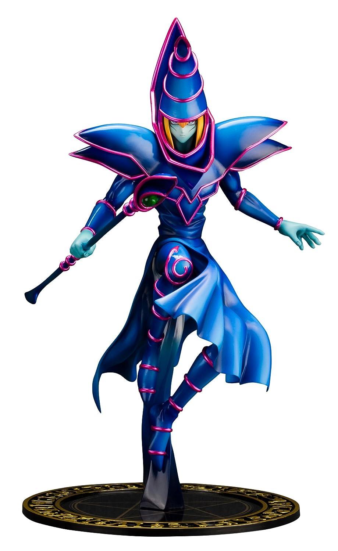 yu gi oh dark magician artfx statue amazon co uk toys u0026 games