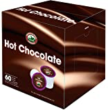 Mountain High Foods All Natural Hot Chocolate K Cups 60 Count (2.0 Compatible)