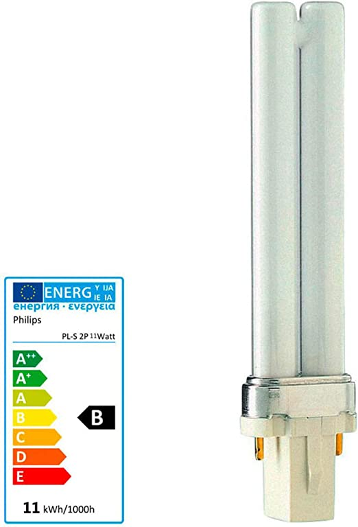 Philips MASTER LED PL-S 2 Pin 9W A Color blanco - Lámpara (9 W, 9 ...