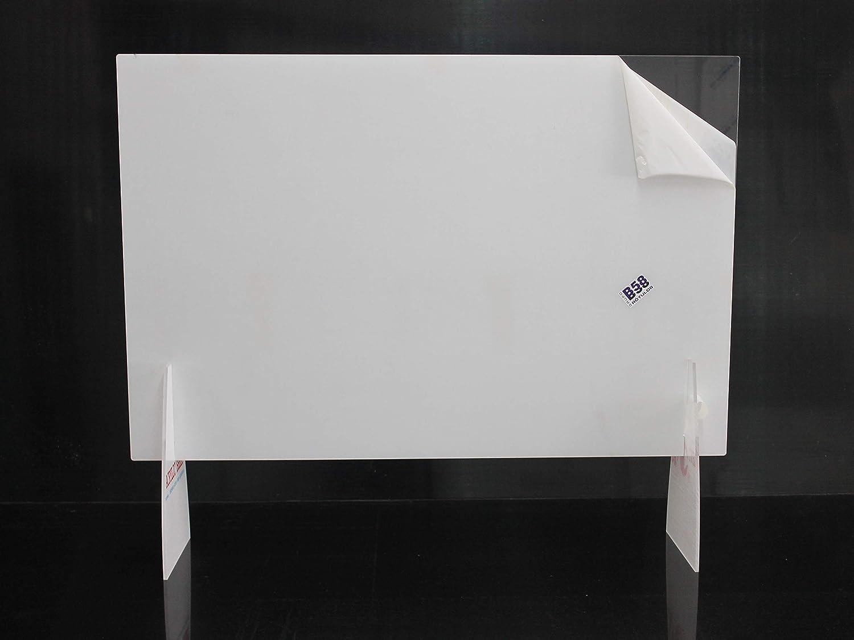 Grupo B58 Mampara divisoria para mostrador Barrera preventiva de contagio